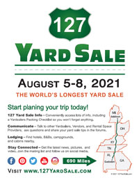 127 Yard Sale Flyer 2021 General