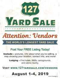 127 Yard Sale Flyer Vendors