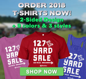 127 Yard Yale T-shirt Sale 2018