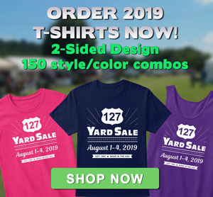 127 Yard Yale T-shirt Sale 2019
