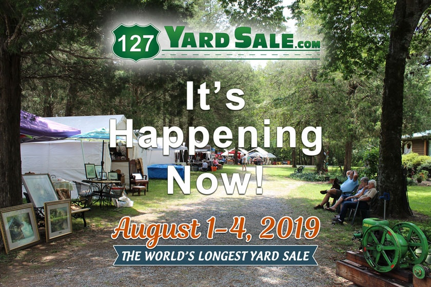 127 Yard Sale Its Happening Now 2019