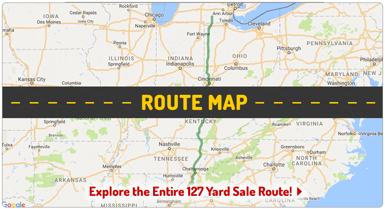127 Yard Sale - The World's Longest Yard Sale