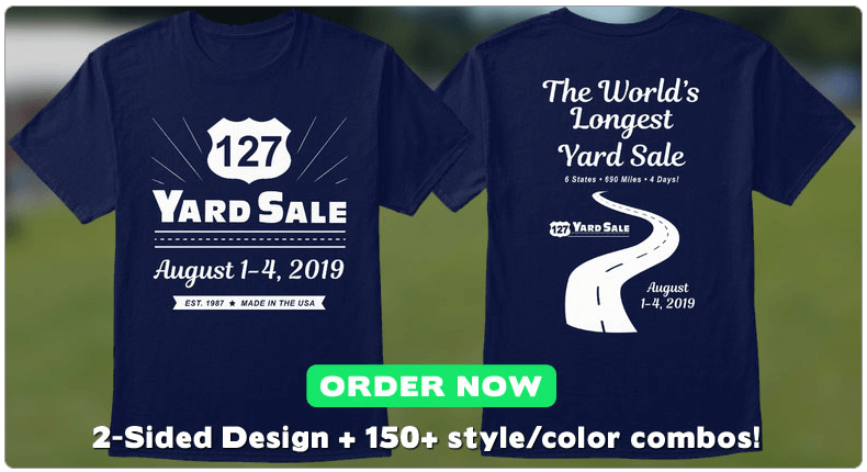 127 Yard Sale - The World\'s Longest Yard Sale