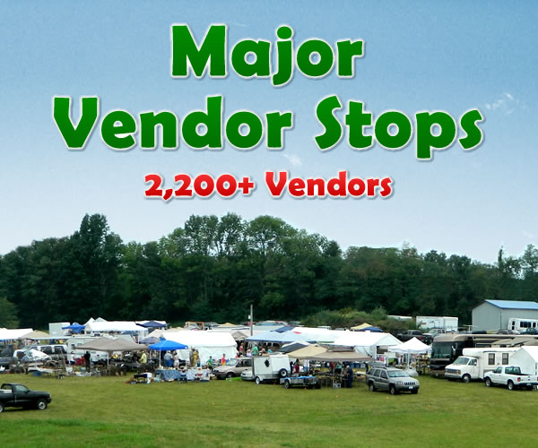 Major Vendor Stops | 127 Yard Sale