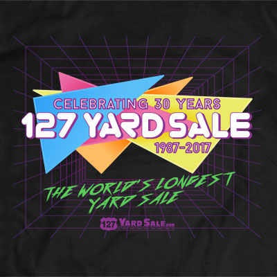 127 Yard Sale 2017 Artwork